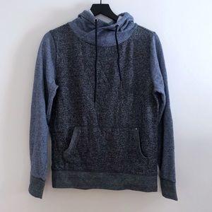 Men's Express Blue and Gray Sweatshirt